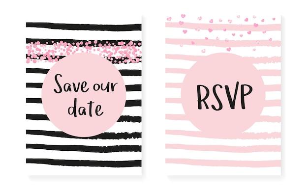 Valentijn patroon. betrokkenheidsdeeltjes set. roze stijlvol element. roos minimaal concept. streep grunge cover. witte romantische starburst. gloeiend behang. streep valentijnspatroon