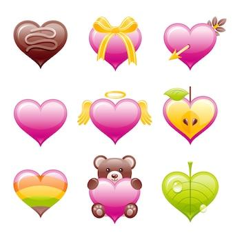 Valentijn pictogram.