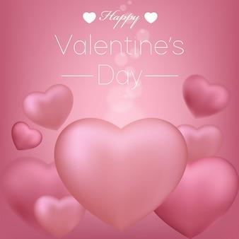 Valentijns achtergrond vector