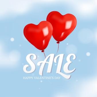 Valentijns promotie verkoop banner