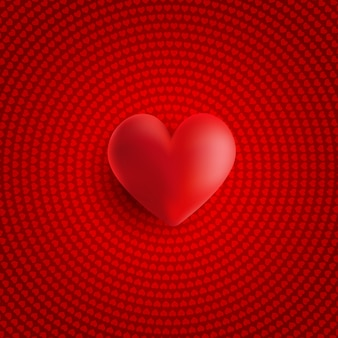 Valentijnsdag 3d hart