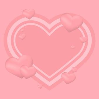 Valentijnsdag achtergrond illustratie