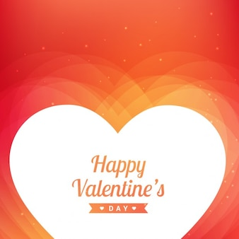 Valentijnsdag achtergrond in oranje tinten