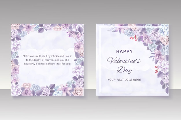 Valentijnsdag achtergrond met handrawn