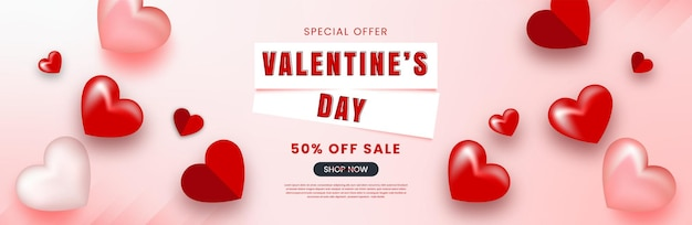 Valentijnsdag achtergrond sjabloon