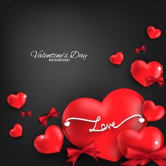 Valentijnsdag achtergrond.
