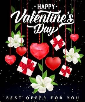 Valentijnsdag beste aanbieding belettering