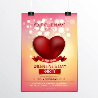 Valentijnsdag brochure