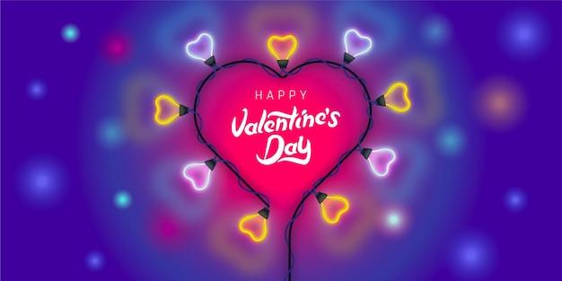 Valentijnsdag concept achtergrond.