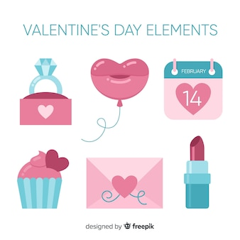 Valentijnsdag element collectie