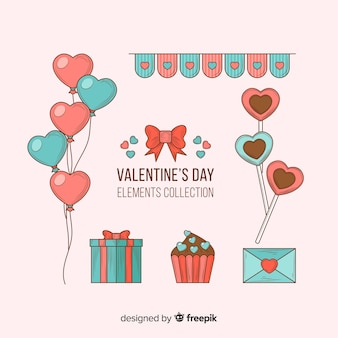 Valentijnsdag element collectie