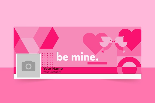 Valentijnsdag facebook omslag