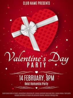 Valentijnsdag feest