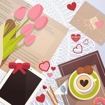 Valentijnsdag geschenk kaart