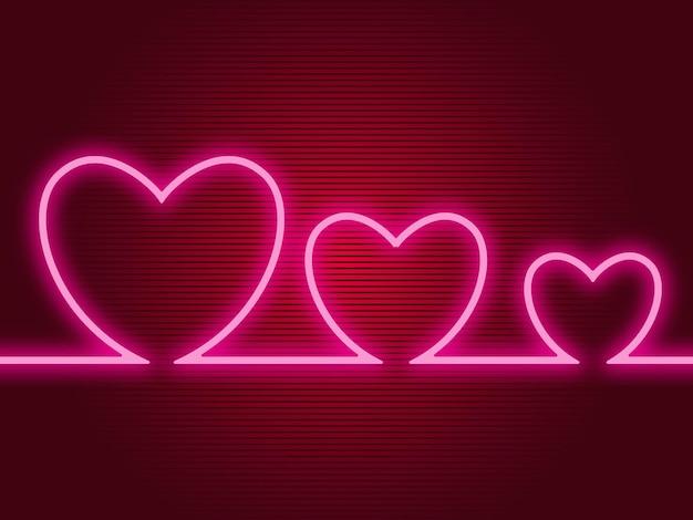Valentijnsdag groet achtergrondontwerp