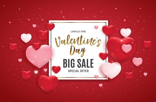 Valentijnsdag grote verkoop