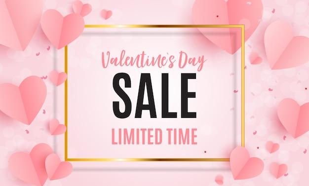 Valentijnsdag hartsymbool. liefde en gevoelens achtergrondontwerp. vector illustratie