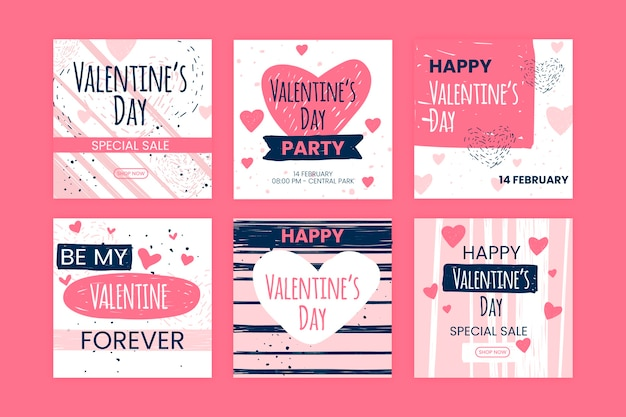 Valentijnsdag instagram collectie