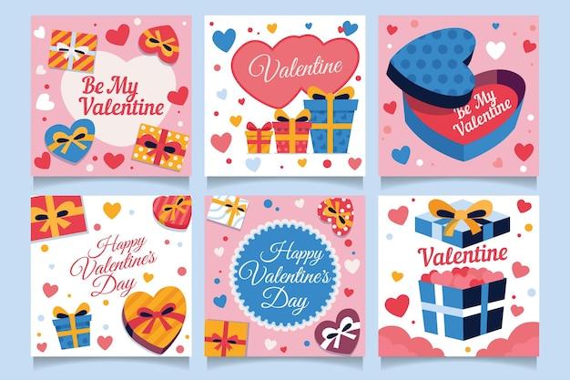 Valentijnsdag instagram post