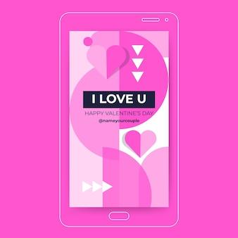 Valentijnsdag instagramverhaal