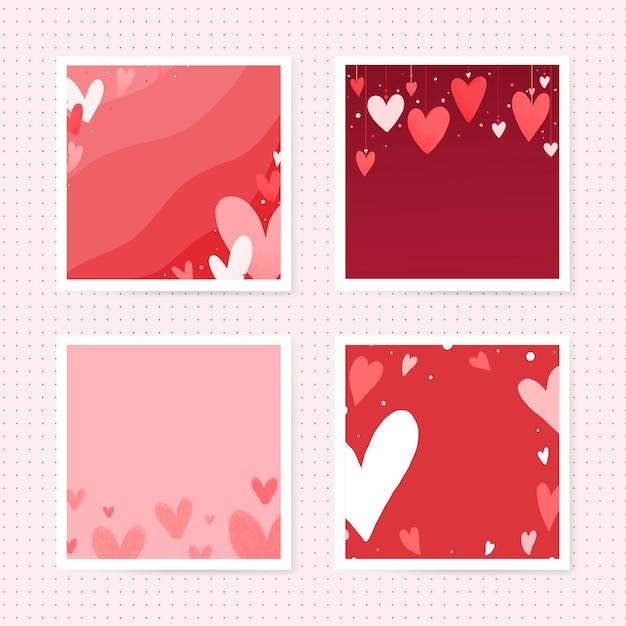 Valentijnsdag kaart ontwerp