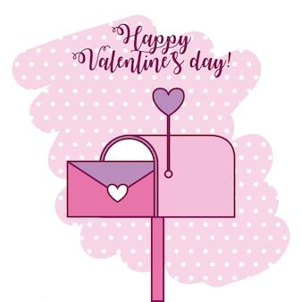 Valentijnsdag kaart