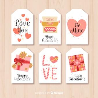 Valentijnsdag kaartcollectie