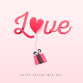 Valentijnsdag liefde achtergrond