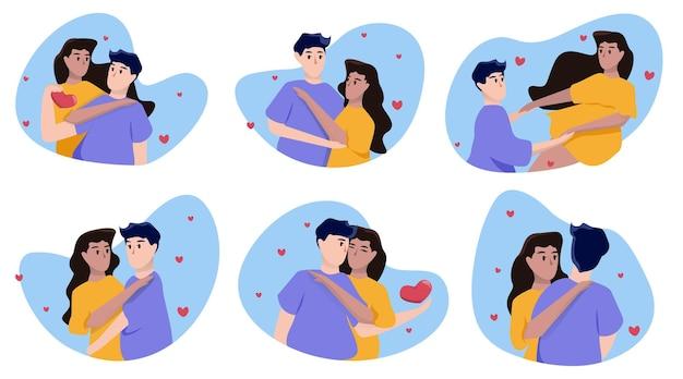 Valentijnsdag liefhebbers
