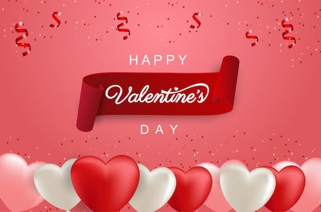 Valentijnsdag met realistische ballon
