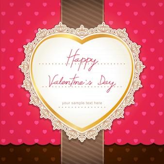 Valentijnsdag of trouwkaart.