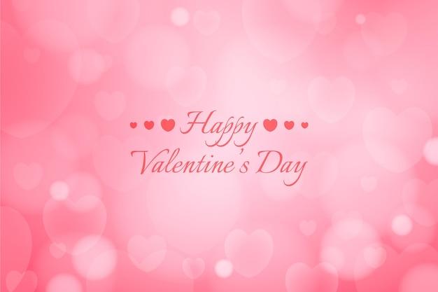 Valentijnsdag onscherpe achtergrond