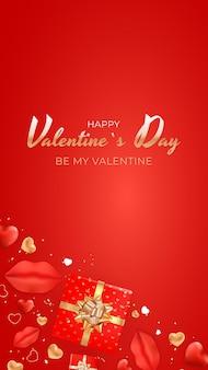Valentijnsdag ontwerp. sjabloon