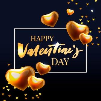 Valentijnsdag ontwerpelementen