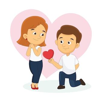 Valentijnsdag paar tijd samen doorbrengen