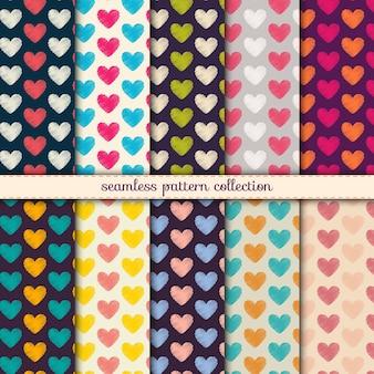 Valentijnsdag patronen.