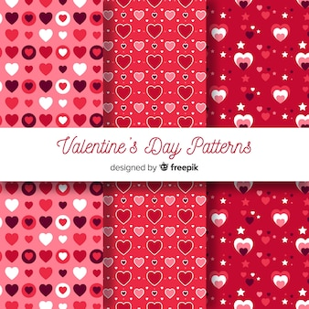 Valentijnsdag patronen