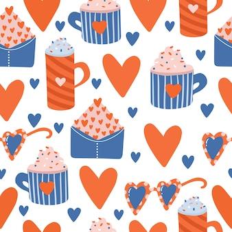 Valentijnsdag patroon