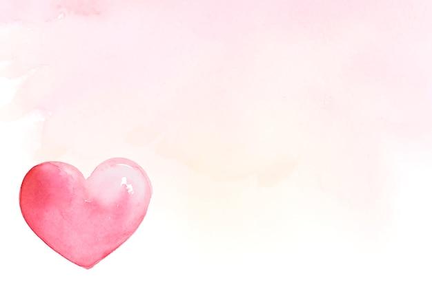 Valentijnsdag pictogram aquarel illustratie