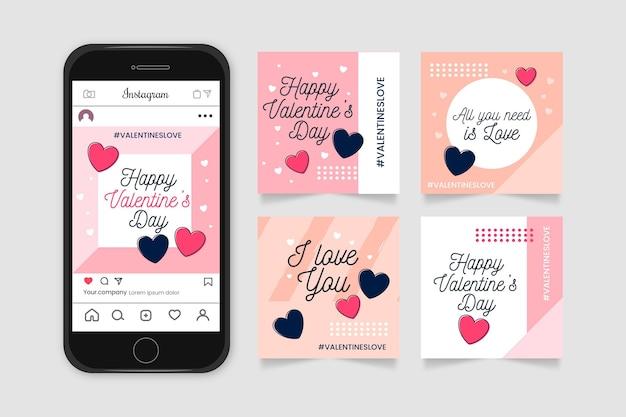 Valentijnsdag post collectie