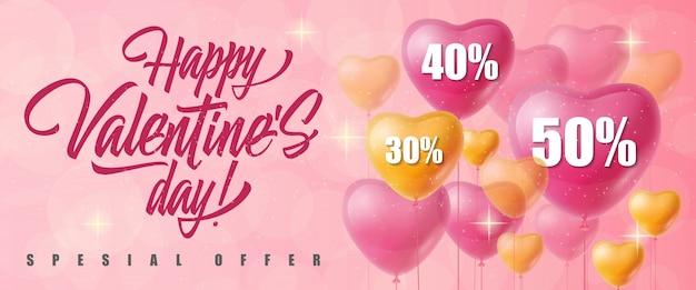 Valentijnsdag speciale aanbieding belettering