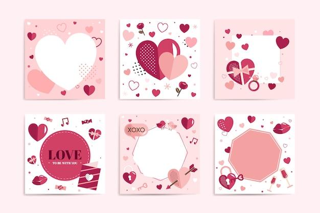 Valentijnsdag vector ontwerpconcept