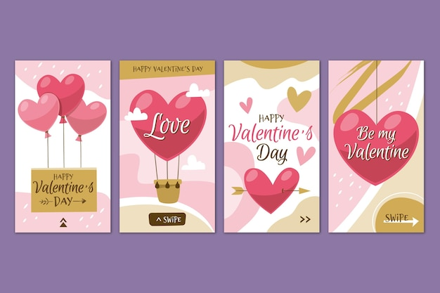 Valentijnsdag verhaalset