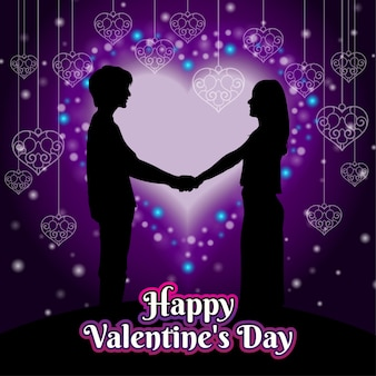 Valentijnsdag wens