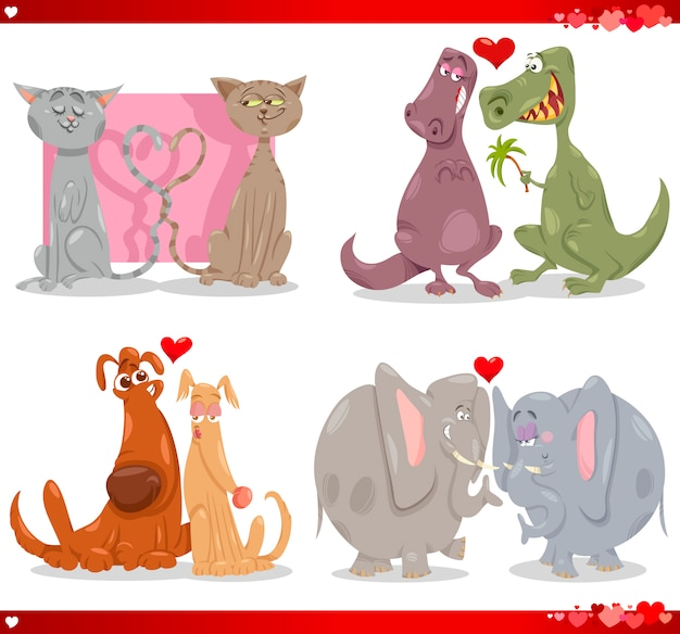 Valentijnsdieren paren