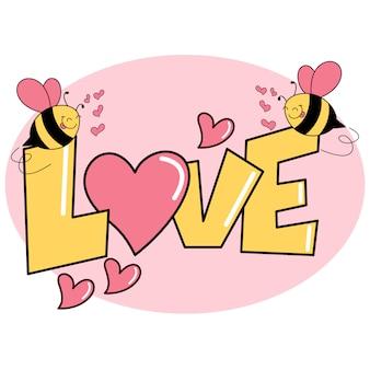 Valentine-achtergrond vectorontwerp