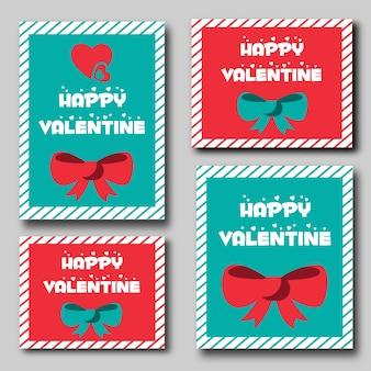 Valentine-briefpapier sets