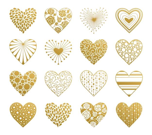 Valentine day-hartenreeks