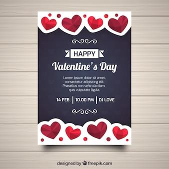 Valentine-feestuitnodiging