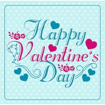 Valentine-groetkaart in uitstekende stijl